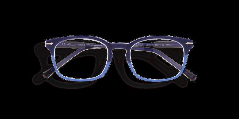 Lunettes de vue homme BELLIGNAT bleu/rouge