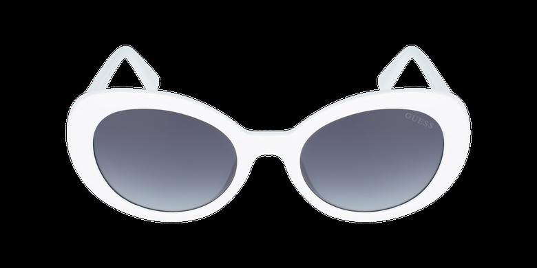 Lunettes de soleil femme GU7632 blancVue de face