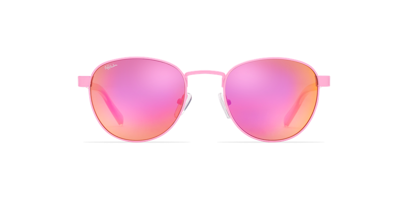 Lunettes de soleil femme FRUTTI rose - Vue de face