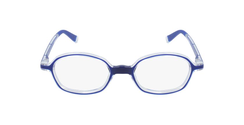Lunettes de vue enfant RFOM2 bleu - Vue de face