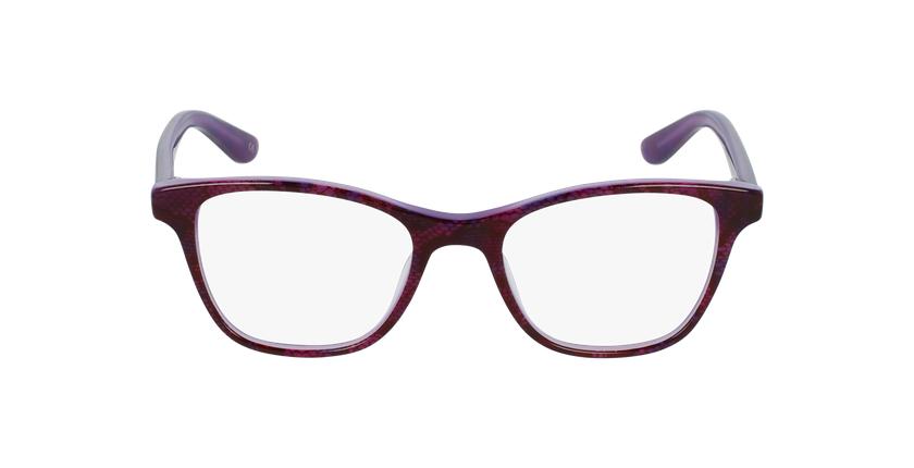 Lunettes de vue enfant ANGELE violet - Vue de face