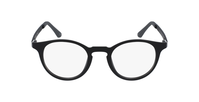 Lunettes de vue femme MAGIC 10 noir/noir mat - Vue de face