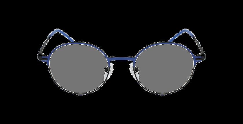 Lunettes de vue femme VENUS bleu/noir - Vue de face