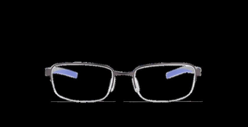 Lunettes de vue homme FRANZ gris - Vue de face