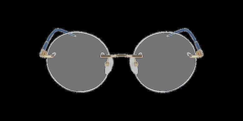 Lunettes de vue IDEALE-18 doré/bleu