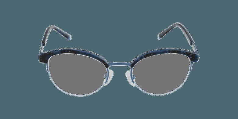 Lunettes de vue femme STRAUSS écaille/bleu