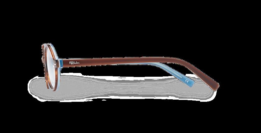 Lunettes de vue enfant LAYAN écaille/bleu - Vue de côté