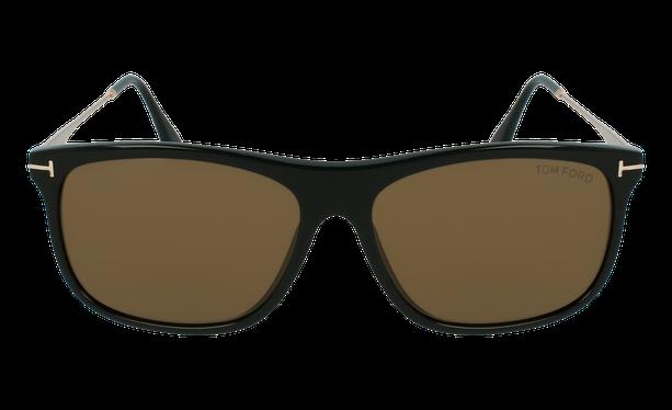 Lunettes de soleil homme MAX noir/marron - danio.store.product.image_view_face