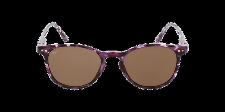Lunettes de soleil enfant FELIZ écaille/violetVue de face