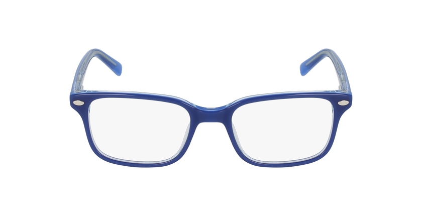 Lunettes de vue enfant EDDIE bleu - Vue de face