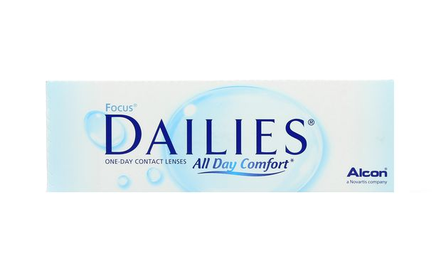 Lentilles de contact Dailies All Day Comfort 30L - Vue de face