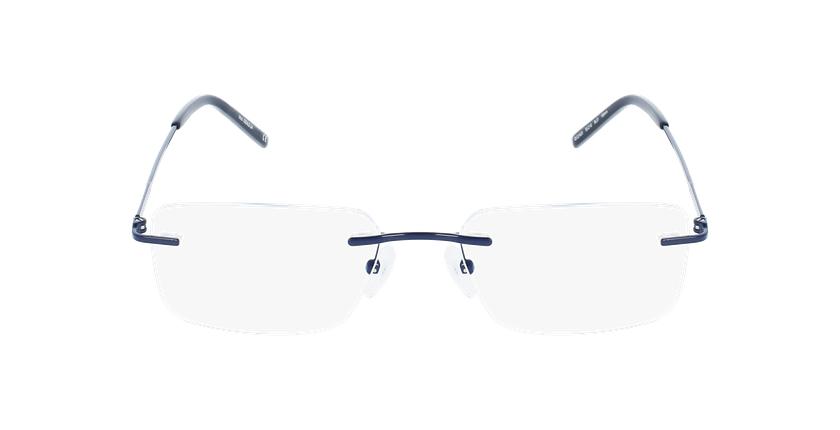 Lunettes de vue homme IDEALE-24 bleu - Vue de face