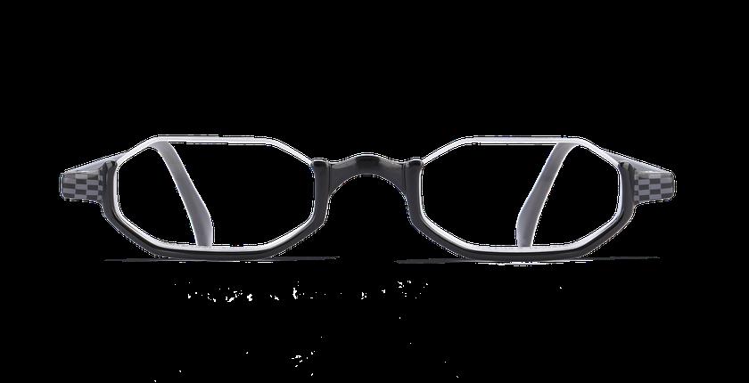 Lunettes de vue AFFLELOU FORTY noir - Vue de face