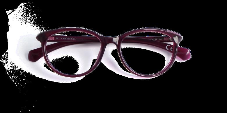 Lunettes de vue femme CALVIN KLEIN JEANS violet