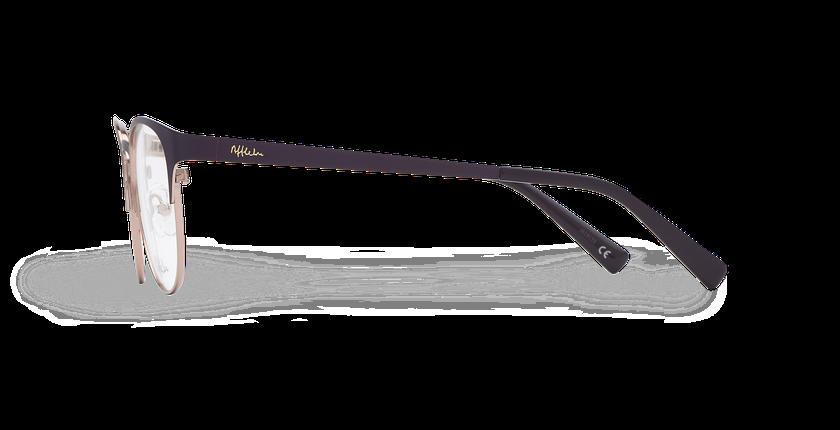 Lunettes de vue femme FANTINE violet - Vue de côté
