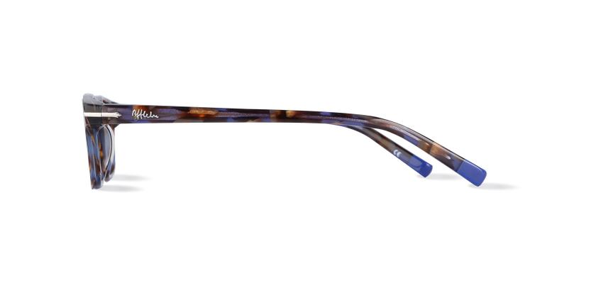 Lunettes de vue homme DUKE bleu/écaille - Vue de côté