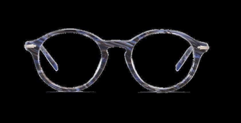 Lunettes de vue homme HARLOW bleu - Vue de face