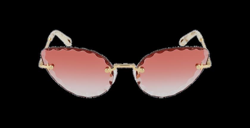 Lunettes de soleil femme CE157S doré/rose - Vue de face
