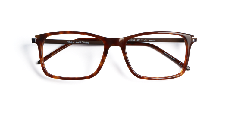 Lunettes de vue homme LOUVRE noir