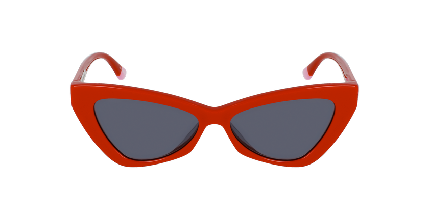 Lunettes de soleil femme VS0022 rouge - Vue de face