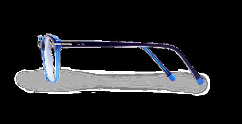 Lunettes de vue homme LONGCHAUMOIS bleu - Vue de côté