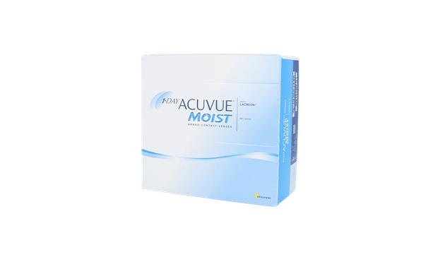Lentilles de contact 1 Day Acuvue® Moist® 180L - Vue de face