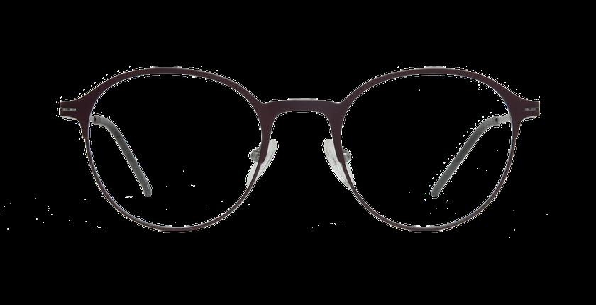 Lunettes de vue femme XENON violet/argenté - Vue de face