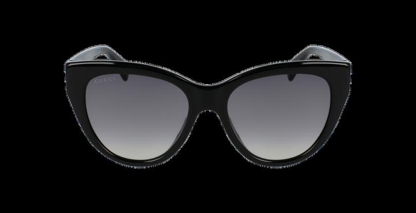 Lunettes de soleil femme GG0460S noir - Vue de face