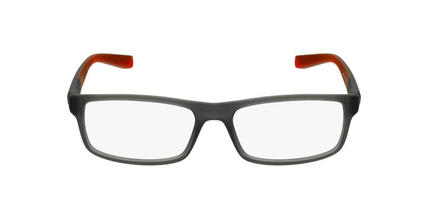 Lunettes de vue homme 7090 noir/rouge - Vue de face