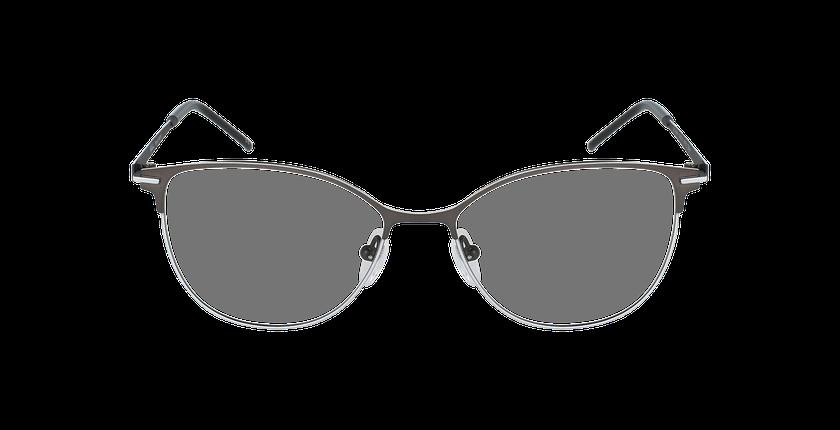 Lunettes de vue femme JUNON gris/blanc - Vue de face