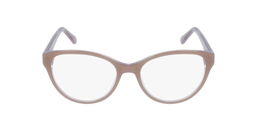 Lunettes de vue femme OAF20521 marron - Vue de face