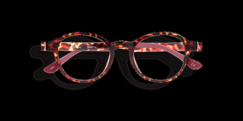 Lunettes de vue femme SMART TONIC 16 écaille/rouge