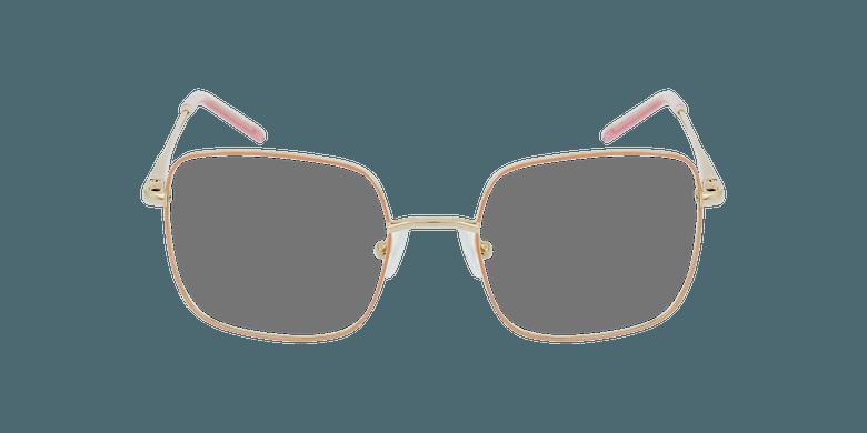 Lunettes de vue enfant STELLA rose/doréVue de face