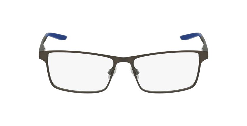 Lunettes de vue homme 8047 gris/bleu - Vue de face