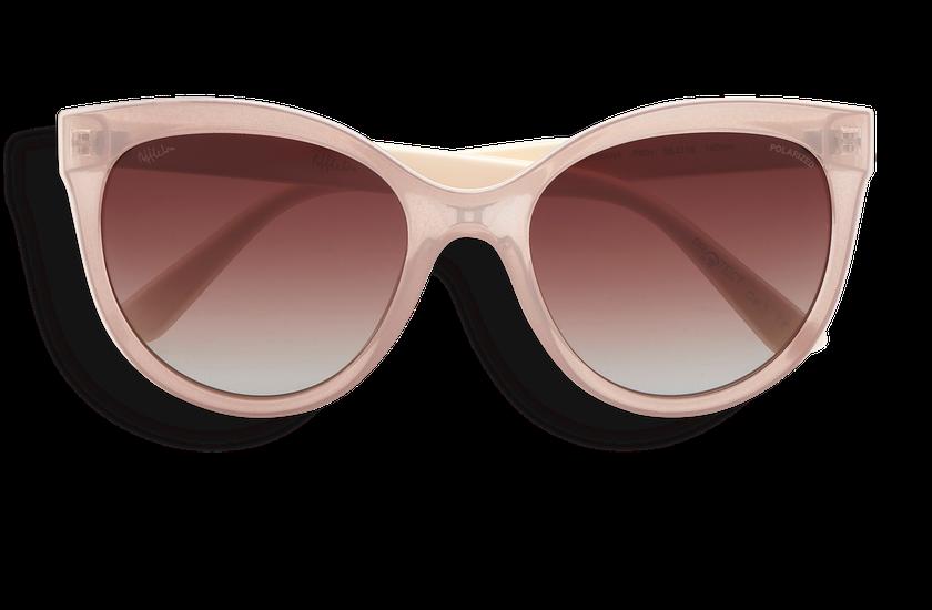 Lunettes de soleil femme AMANA POLARIZED rose/blanc - danio.store.product.image_view_face