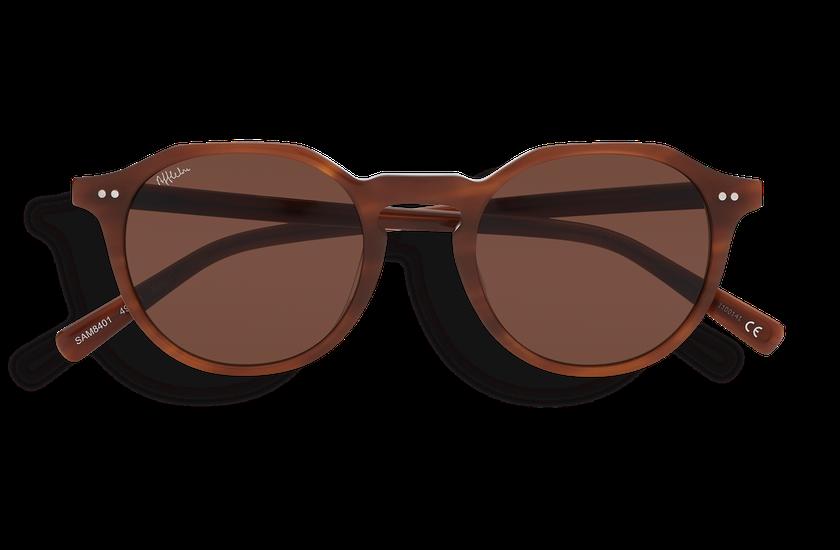 Lunettes de soleil JANIS marron - danio.store.product.image_view_face