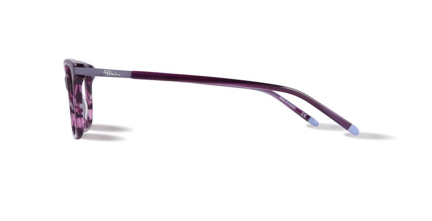 Lunettes de vue femme MEDICIS violet - Vue de côté