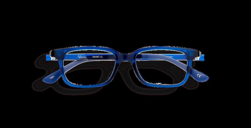 Lunettes de vue enfant SMART TONIC 12 bleu/bleu cristal - Vue de face