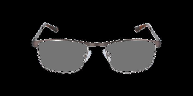 Lunettes de vue homme GUIDO gris/argentéVue de face