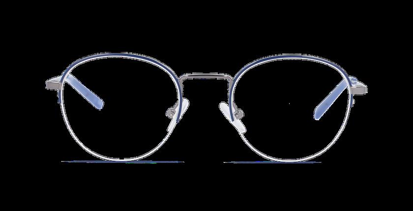 Lunettes de vue homme TILIO bleu - Vue de face