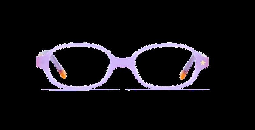 Lunettes de vue enfant LORRIE violet/violet - Vue de face