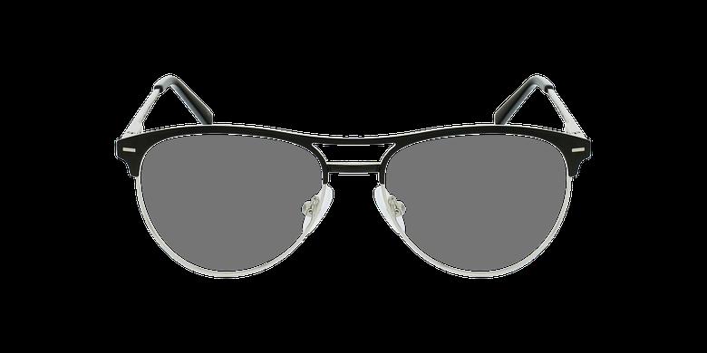 Lunettes de vue femme MILES noirVue de face