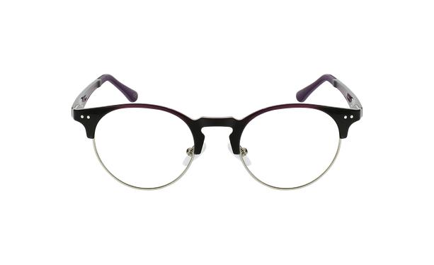 Lunettes de vue MAGIC 93 violet/argenté - Vue de face