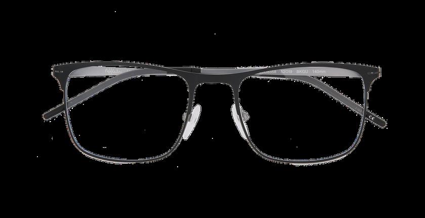 Lunettes de vue homme HELIUM noir/gris - Vue de face