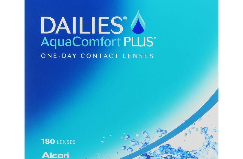 Lentilles de contact Dailies AquaComfort Plus 180L - danio.store.product.image_view_face
