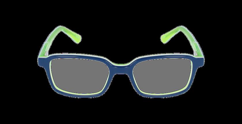 Lunettes de vue enfant SURF bleu/vert - Vue de face
