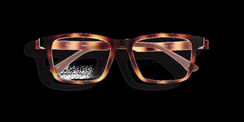 Lunettes de vue homme SMART TONIC 01 noir/noir mat
