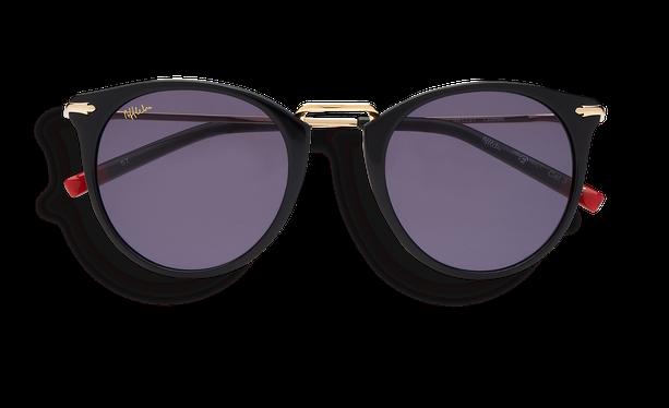 Lunettes de soleil femme BARKLY noir - danio.store.product.image_view_face