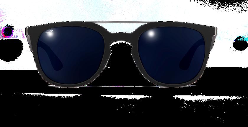 Lunettes de soleil homme CAGLIARI POLARIZED noir - Vue de face