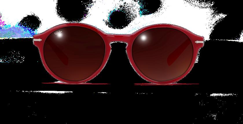 Lunettes de soleil femme POSEIDON rose - Vue de face
